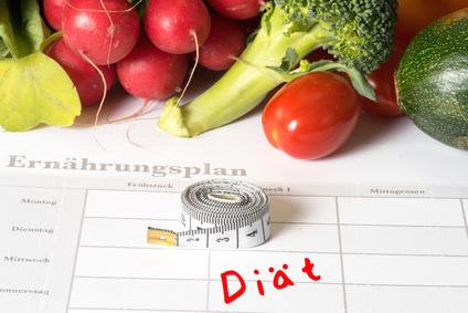 Ein Ernährungsplan hilft beim gesunden abnehmen