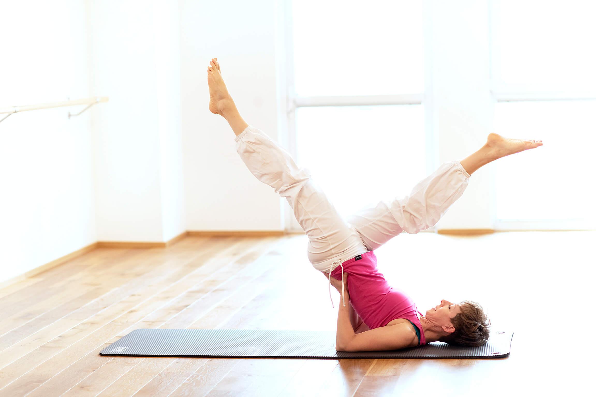 Pilates für Zuhause online