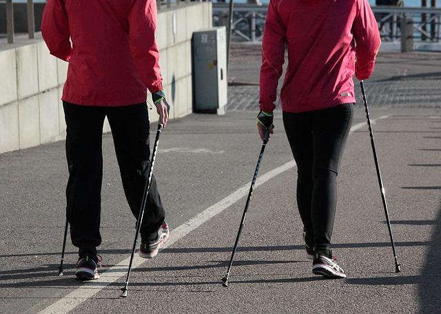 Walking Spazierengehen ist gesund