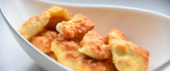 Low-Carb Chicken Nuggets mit Parmesan