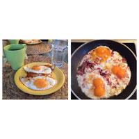 Eier zum Low Carb Frühstück