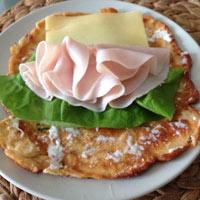 Pfannkuchen zum Low Carb Frühstück