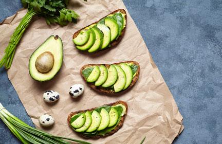 low carb schnell zubereitet mit Avocado