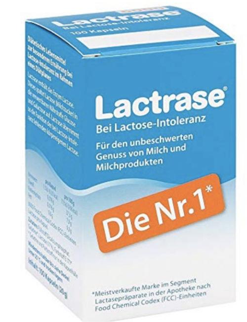 Lactrase Kapseln bei Lactoseunverträglichkeit