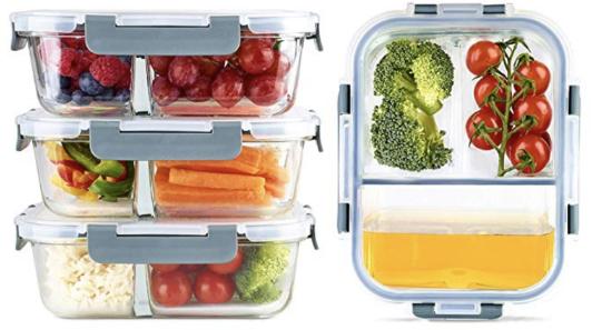 Meal Prep Boxen nachhaltig aus Glas